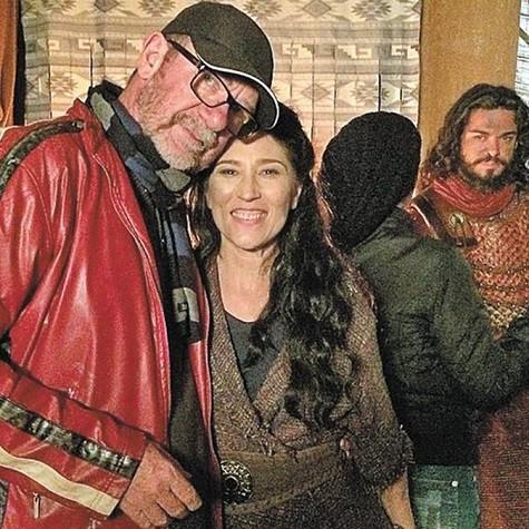 Rudi Lagemann com Beth Goulart (Foto: Arquivo pessoal)