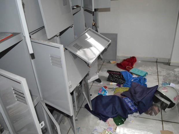 Posto de saúde foi alvo de vandalismo (Foto: Prefeitura de Jaú/ Divulgação)
