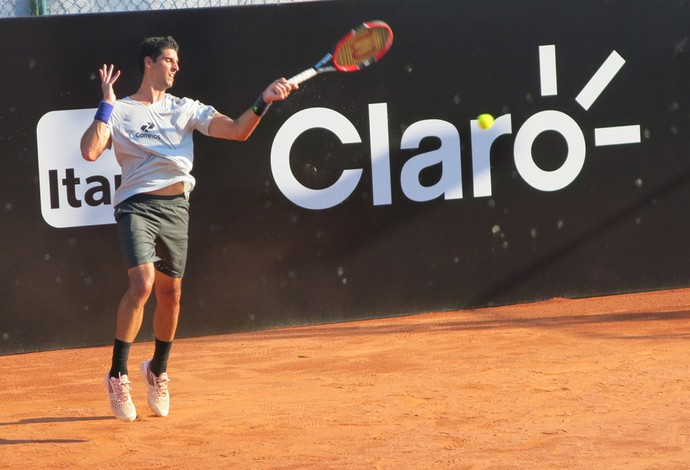 Thomaz Bellucci tenis (Foto: Thiago Quintella)