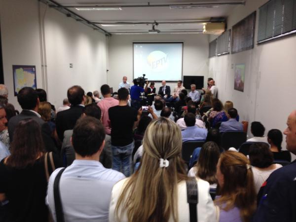 Encontro está reunindo representantes de municípios para apresentar a campanha. (Foto: Divulgação EPTV)