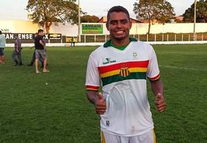 Bruno Chocolate marcou dois gols da goleada do Sampaio sobre o Cordino (Foto: Divulgação/Site do Sampaio)