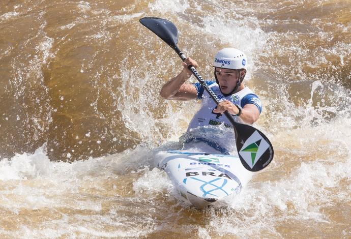 Pedro da Silva, Pepê, canoagem (Foto: Caio Coronel/Canoagem Brasileira)