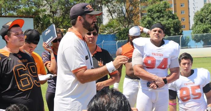 Lener Fernandes, técnico do Vila Velha Tritões (Foto: Raul Marques/Vila Velha Tritões)