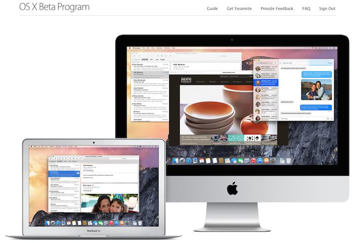 Apple liberou o beta do OS X Yosemite, veja como baixar (Foto: Reprodução/Edivaldo Brito)