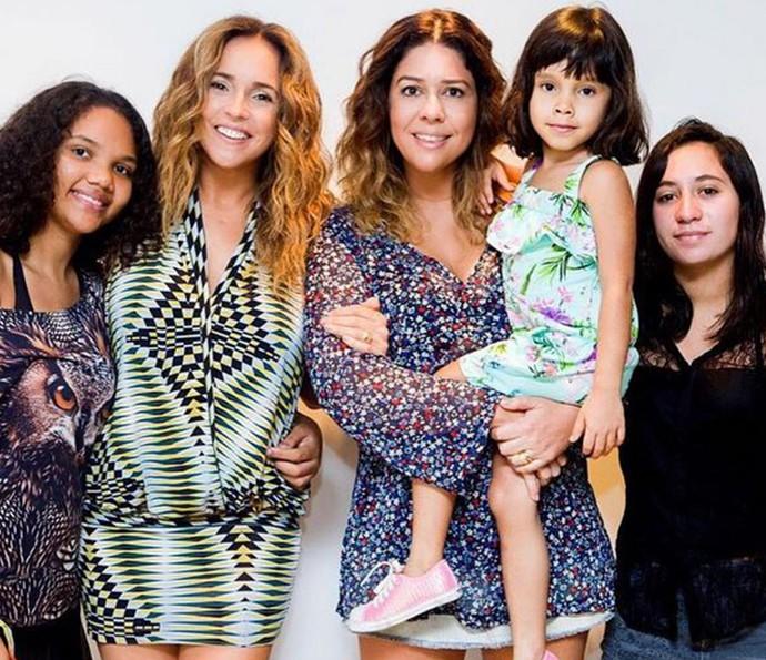 Daniela Mercury e família (Foto: Arquivo Pessoal)