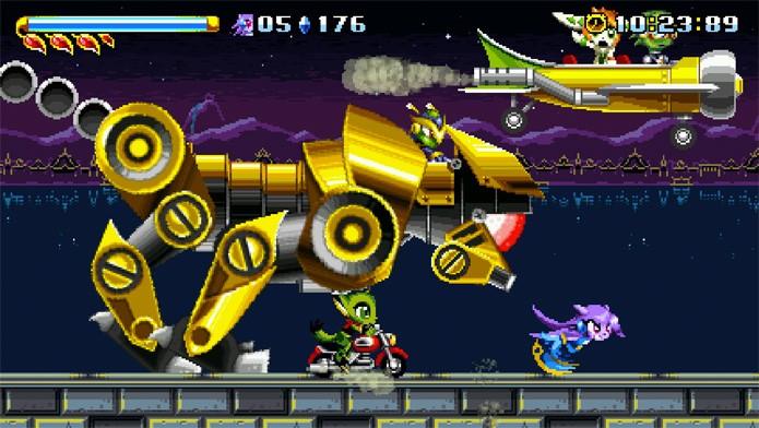 Freedom Planet, um divertido clone de Sonic (Foto: Divulgação)