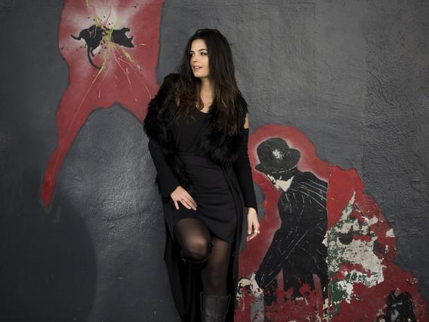 A cantora Emanuelle Araújo (Foto: Divulgação)