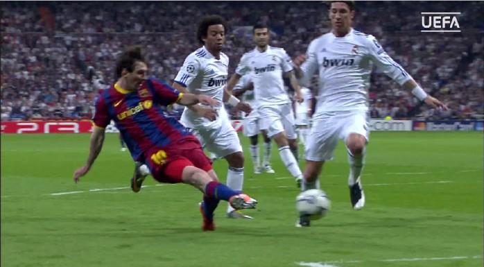 Messi, Barcelona x Real Madrid