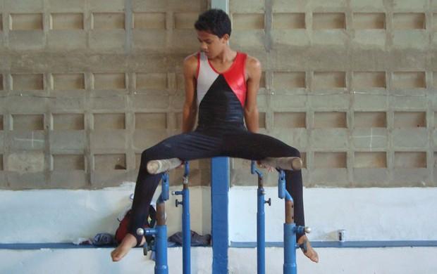 Niedson Bezerra, ginasta artístico paraibano (Foto: Cadu Vieira / globoesporte.com/pb)