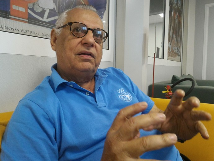 Eduardo de Rose, membro do Comitê Executivo da Wada (Foto: Vicente Seda)