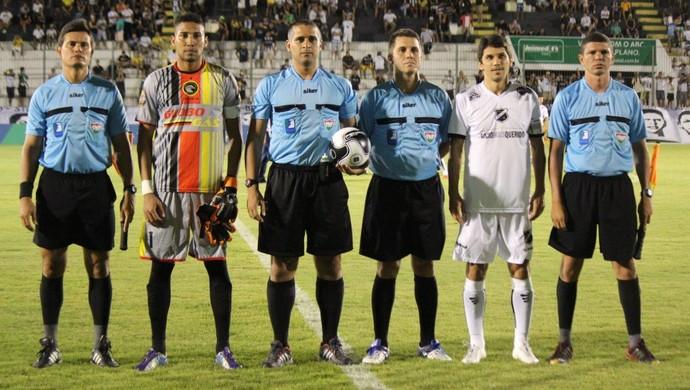 Suelson Diógenes árbitro (Foto: Diego Simonetti/Blog do Major)
