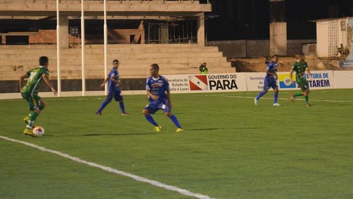 Com esse resultado Tapajós ficou distante da classificação para próxima fase (Foto: Sabrina Rabelo/GloboEsporte.com)