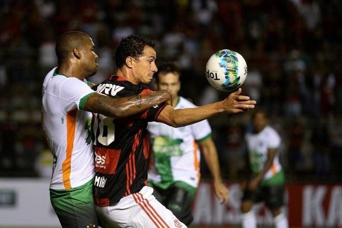 Fla levou a melhor sobre o América no DF (Foto: Staff Images/Flamengo)