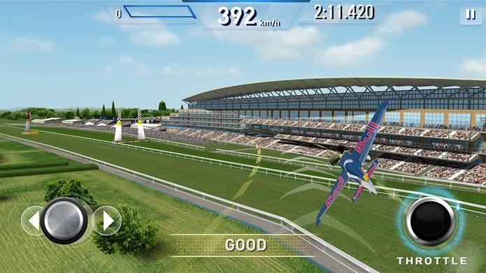 Redbull Air Race traz ótimos gráficos e jogabilidade descomplicada (Foto: Divulgação)