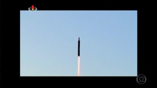 Comunidade internacional condena Coreia do Norte por míssil lançado