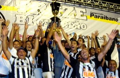treze-pb campeão estadual (Foto: Divulgação Site Oficial do Treze-PB)