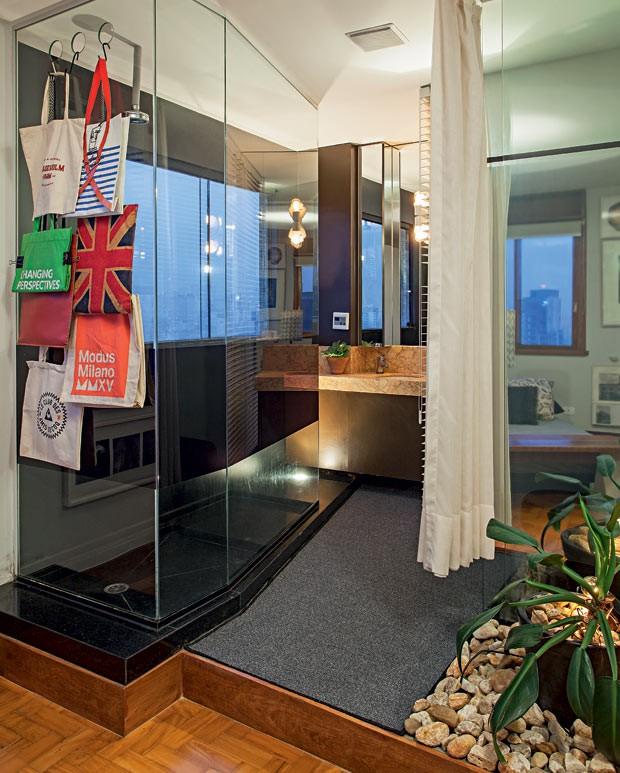 banheiro-suite-carpete-plantas (Foto: Gui Morelli/Editora Globo)