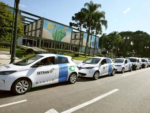 Em um ano, Curitiba Ecoelétrico evita emissão de seis toneladas de dióxido de carbono na capital paranaense (Foto: Divulgação/Prefeitura de Curitiba)