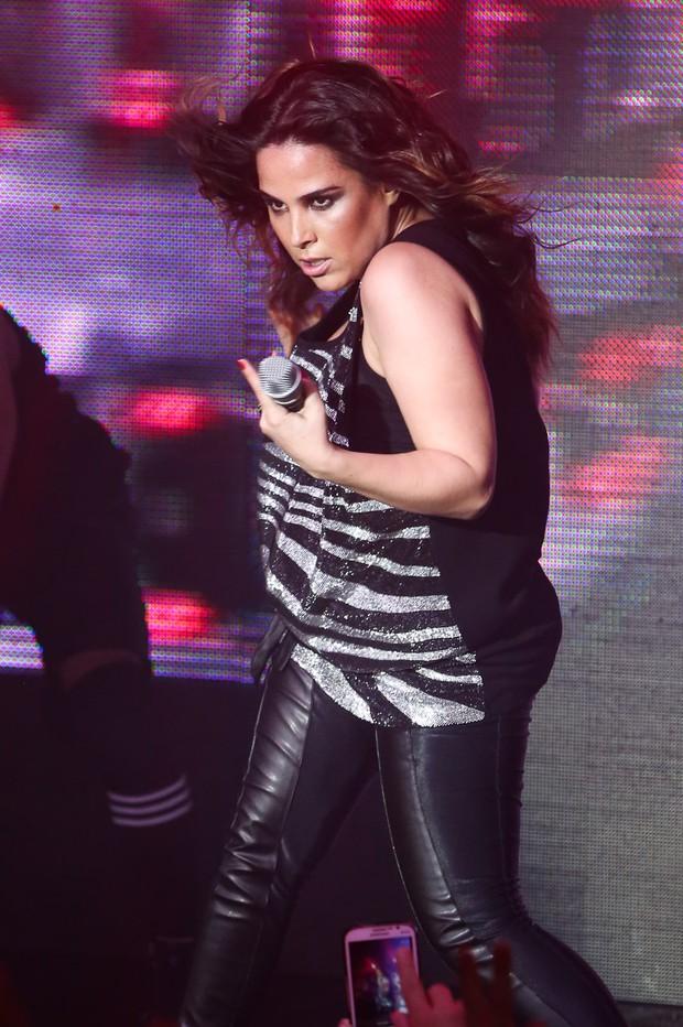 Wanessa volta aos palcos (Foto: Manuela Scarpa / Photo Rio News)