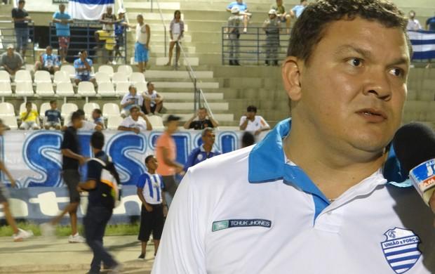 Cícero Eugênio, vice-presidente geral do CSA (Foto: Caio Lorena / Globoesporte.com)