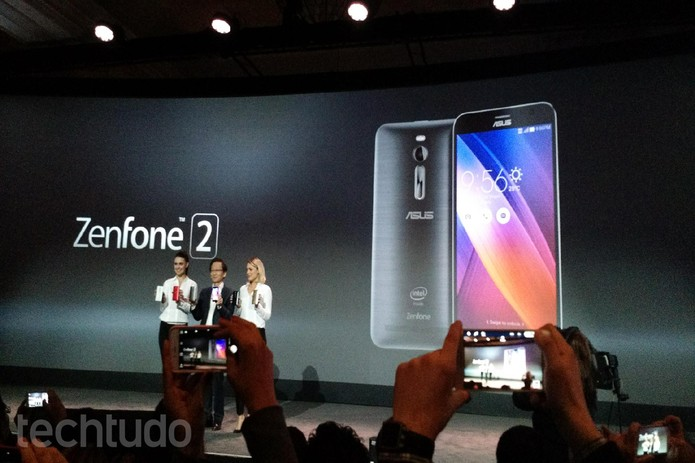 Asus surpreende e lança Zenfone 2 com 4 GB de RAM (Foto: Isadora Díaz/TechTudo)