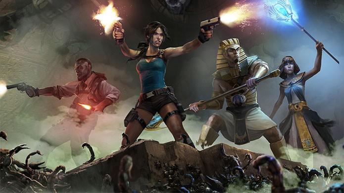 Lara Croft and the Temple of Osiris mais barato no Xbox Live (Foto: Divulgação/Square Enix)