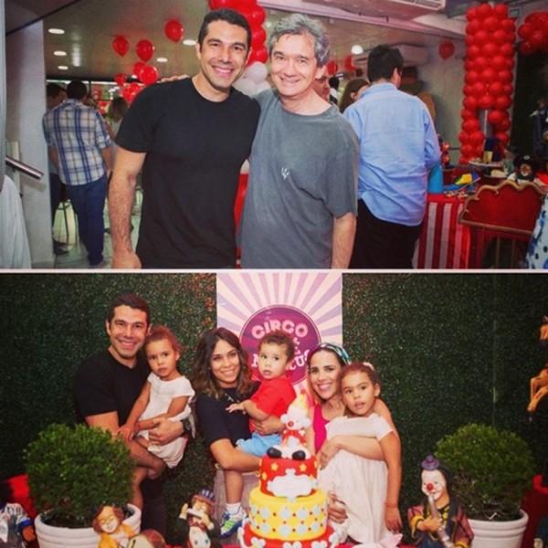 Famosos prestigiam o aniversário do filho de Wanessa (Foto: Reprodução / Instagram)