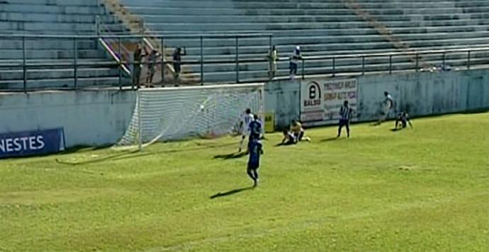 São Mateus x Real Noroeste (Foto: Reprodução/TV Gazeta Norte)