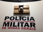 PM intercepta carro e prende homem com 3 kg de droga em Montes Claros