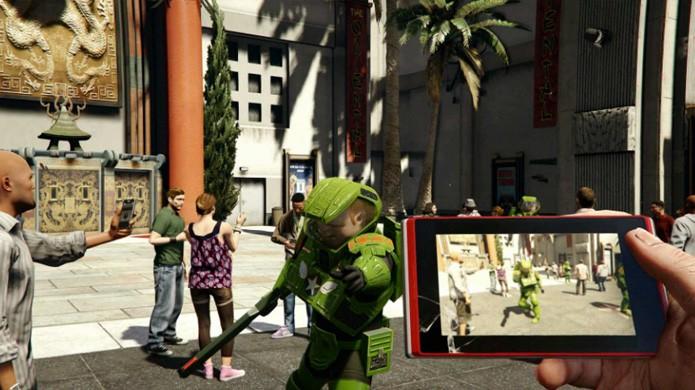 O Photo Mode de GTA 5 é bem diferente do apresentado em outros games (Foto: Reprodução/Grand Theft Auto Wikia)