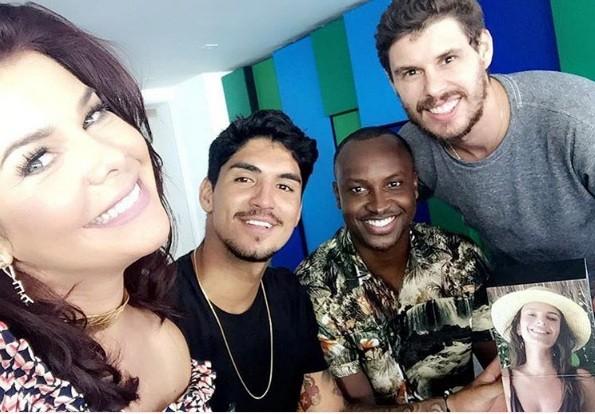 Fernanda Souza bem acompanhada (Foto: Instagram)