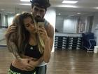 Adriana Sant'Anna posta foto cheia de chamego com Rodrigão