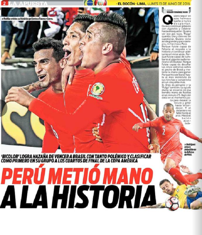 El Bocon Brasil x Peru