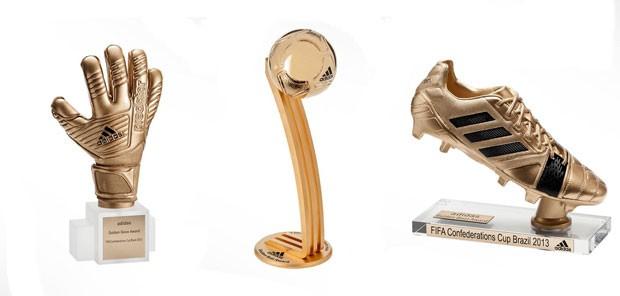 Premiação copa das confederações (Foto: Divulgação)