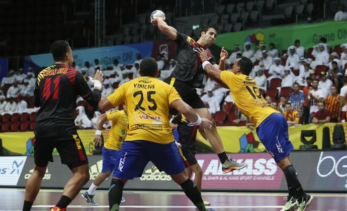 Taubaté Handebol x Espérance (Foto: Divulgação/Qatar Handball)
