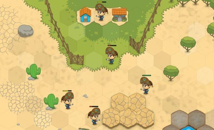 Wargame é o jogo de estratégia da Sertão Games para o Facebook (Foto: Divulgação)