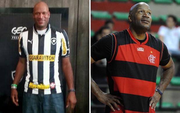 Ron Harper camisa Botafogo Flamengo (Foto: Alexandre Vidal)