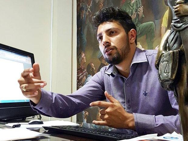Advogado Rafael Gonçalves, São Sebastião do Paraíso (Foto: Rafael Gonçalves / Arquivo pessoal)
