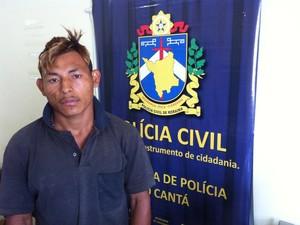 Jaci Oliveira da Silva foi preso na terça (15) (Foto: Divulgação/ Polícia Civil)