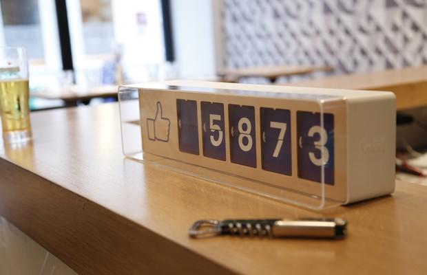 O Fliike conta em tempo real o número de fãs de uma empresa no Facebook (Foto: Divulgação)