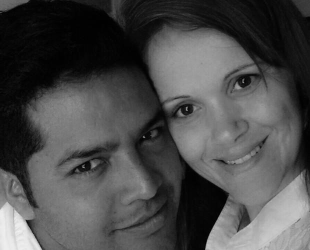 Lisane e o namorado Eduardo Rojas (Foto: Arquivo Pessoal)