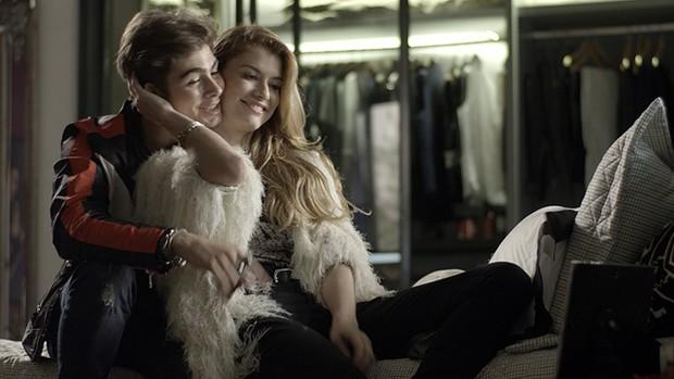 Rock Story: Léo Régis  faz declaração para Diana (divulgação)