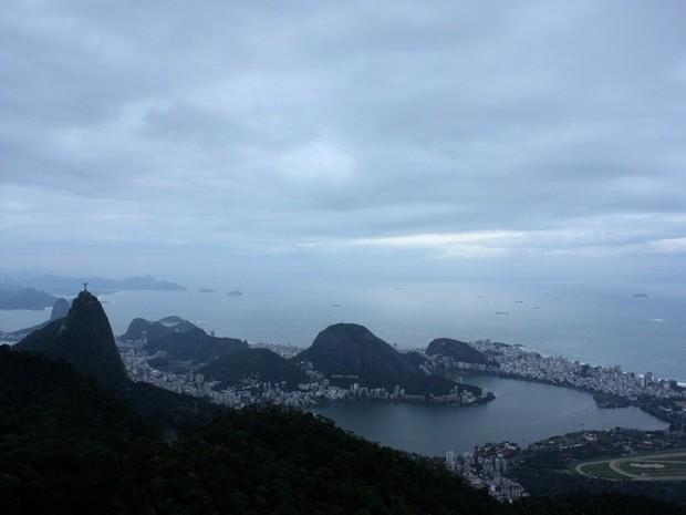 Previsão do tempo segunda-feira (14) Rio de Janeiro (Foto: Marcos Teixeira Estrella/TV Globo)