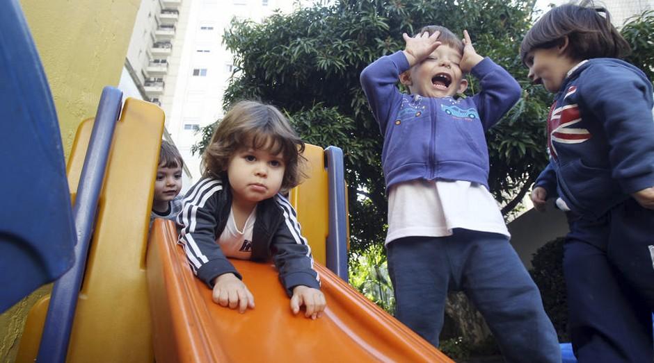Colégio Ítalo Brasileiro, em Moema, na zona sul de São Paulo, mantém horário integral, mas com programação mais flexível  (Foto: Estadão Conteúdo)