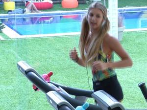 BBB às 18h03m do dia 26/01. (Foto: Big Brother Brasil)