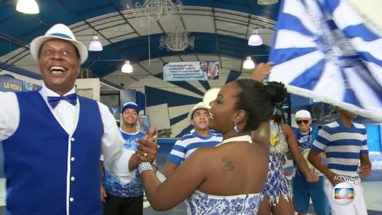 Festa em Madureira continua na manhã desta quinta após vitória da Portela