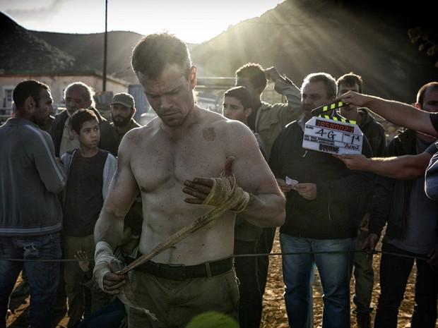 Matt Damon em cena de 'Jason Bourne' (Foto: Divulgação)