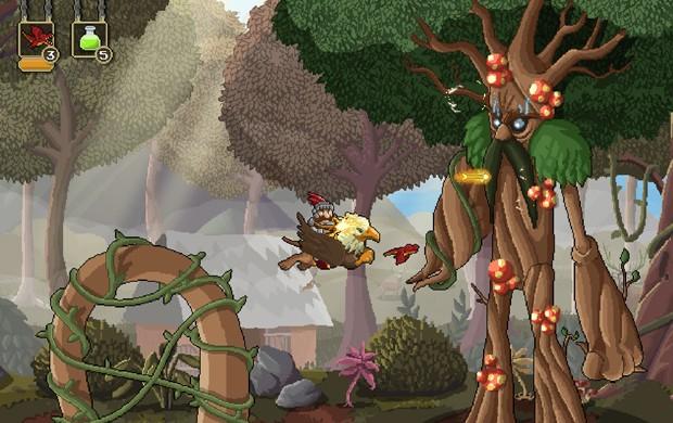 'Gryphon Knight Epic', game desenvolvido em Santa Catarina, será lançado para PC em 20 de agosto (Foto: Divulgação/Cyber Rhino)