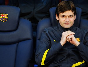 Tito vilanova - Barcelona (Foto: Getty Images)