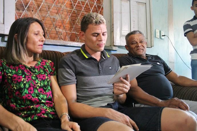Jonas em Teresina (Foto: Renan Morais/GloboEsporte.com)